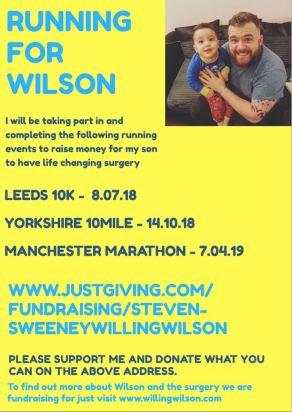 Running for Wilson